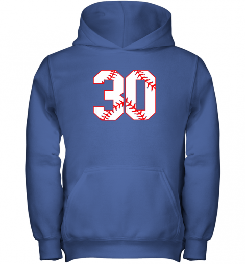 mn4l thirtieth birthday party 30th baseball shirt born 1989 youth hoodie 43 front royal