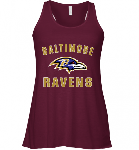 u0vf mens baltimore ravens nfl pro line by fanatics branded gray victory arch t shirt flowy tank 32 front maroon