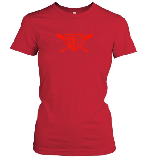 lslg cool san francisco baseball the city bridge sfo ladies t shirt 20 front red