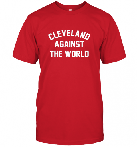 k3xs cleveland against the world football baseball basketball jersey t shirt 60 front red