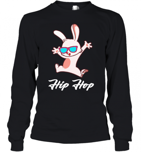 Hip Hop Holiday Easter Rabbit Youth Long Sleeve