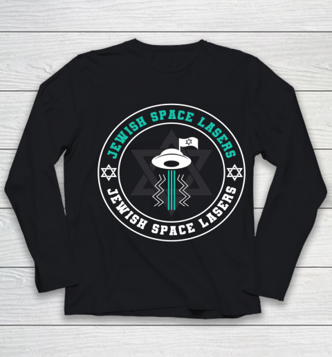 Jewish Space Lasers Space Youth Long Sleeve
