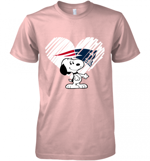 vj7m i love new england patriots snoopy in my heart nfl premium guys tee 5 front light pink