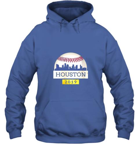 mryl houston baseball shirt 2019 astro skyline on giant ball hoodie 23 front royal