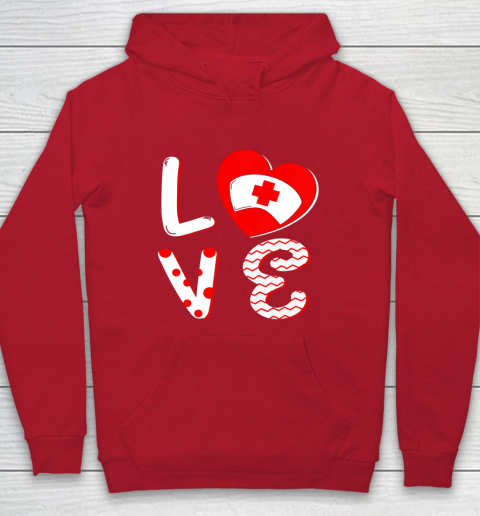 Medical Nurse Valentine Day Shirt Love Matching Hoodie 7