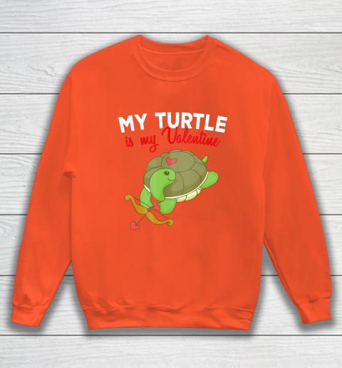 Turtle Valentine T Shirt Sea Turtle Cupid Valentines Day Sweatshirt 3