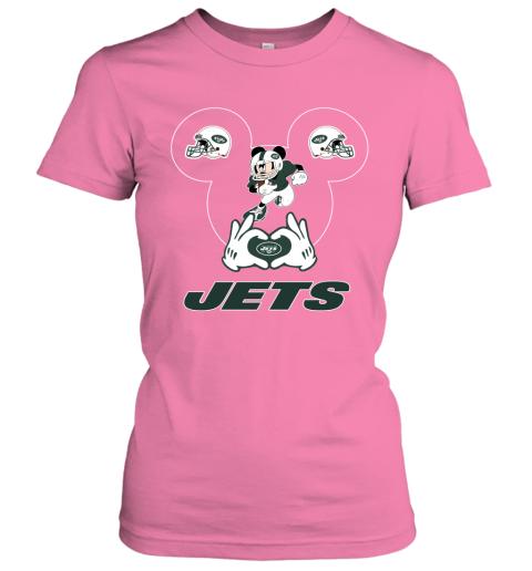 p4io i love the jets mickey mouse new york jets ladies t shirt 20 front azalea