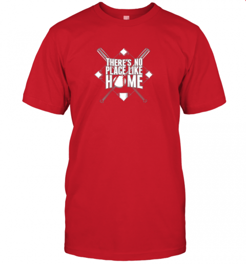 srw7 there39 s no place like home baseball tshirt mom dad youth jersey t shirt 60 front red
