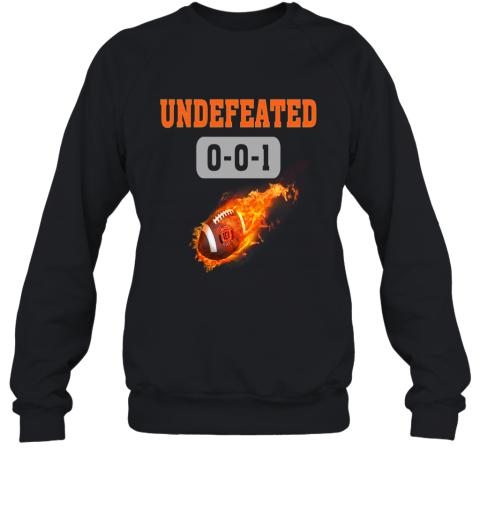 NFL CINCINNATI BENGALS LOGO Undefeated Sweatshirt