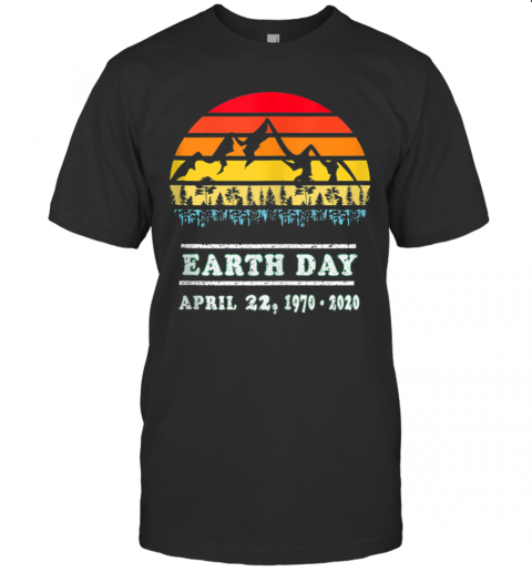 Earth Day April 22, 19702020 Vintage 50Th Earth Day T-Shirt