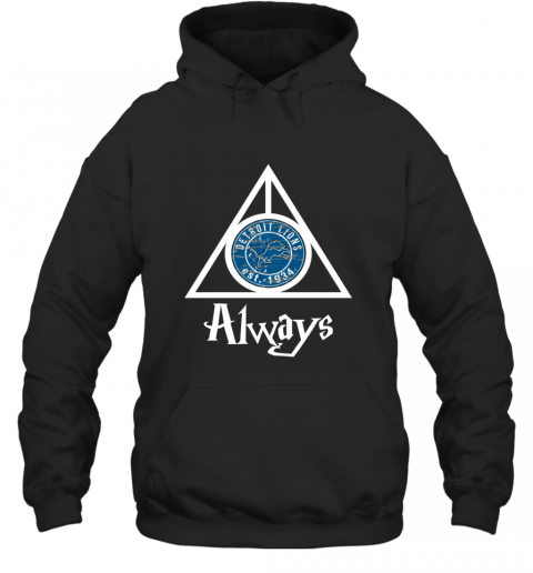 Always Love The Detroit Lions x Harry Potter Mashup NFL Hoodie