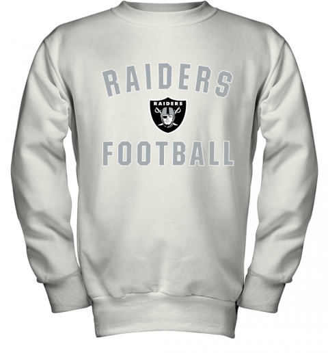 Oakland Raiders NFL Pro Line by Fanatics Branded Black Victory Youth Sweatshirt