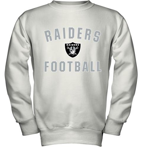Oakland Raiders NFL Pro Line by Fanatics Branded Black Victory Youth Sweatshirt