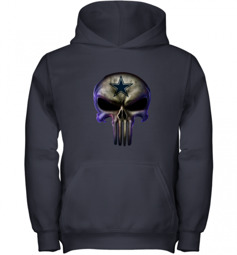 Dallas Cowboys The Punisher Mashup Football Youth Hoodie