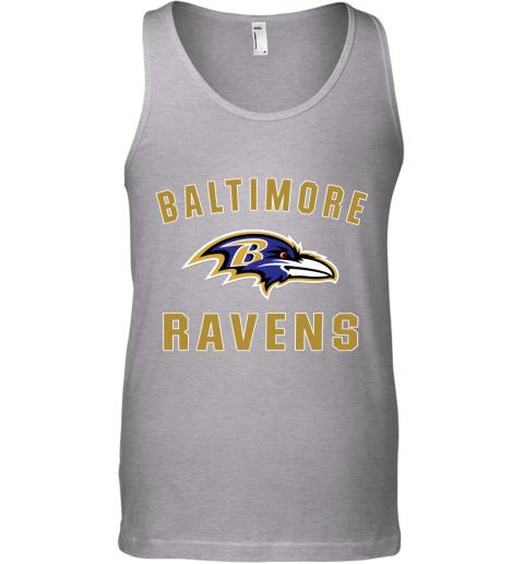 1ekh mens baltimore ravens nfl pro line by fanatics branded gray victory arch t shirt unisex tank 17 front sport grey