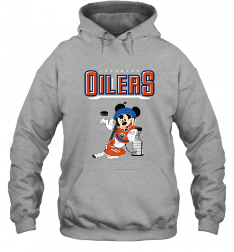 2bm9 mickey edmonton oilers with the stanley cup hockey nhl shirt hoodie 23 front sport grey
