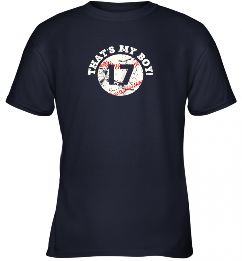 lj33 that39 s my boy 17 baseball player mom or dad gift youth t shirt 26 front navy