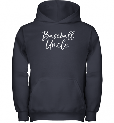 x26j baseball uncle shirt for men cool baseball uncle youth hoodie 43 front navy