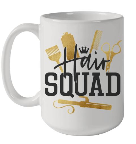Hair Stylist Squad Ceramic Mug 15oz
