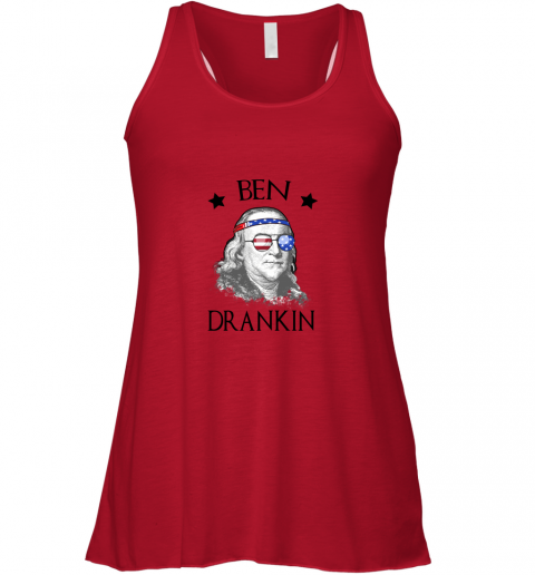 Day 4th Of July Ben Drankin Benjamin Franklin Racerback Tank
