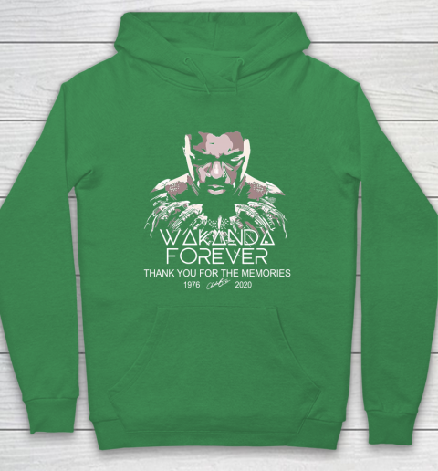 Rip Wakanda 1976 2020 forever thank you for the memories signature Hoodie 5