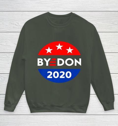 ByeDon 2020 Bye Don Anti Trump Vote Joe Biden Youth Sweatshirt 8