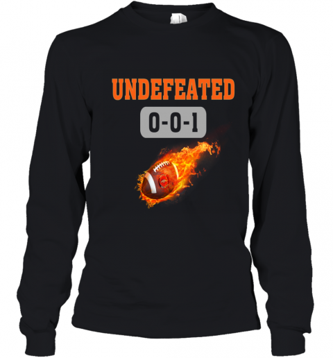 NFL DENVER BRONCOS LOGO Undefeated Youth Long Sleeve T-Shirt