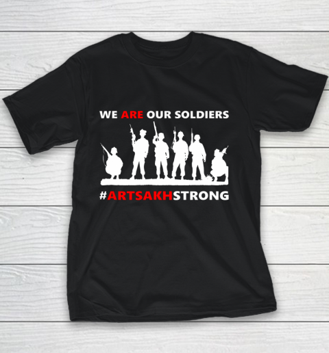 We Are Our Soldiers Youth T-Shirt 9