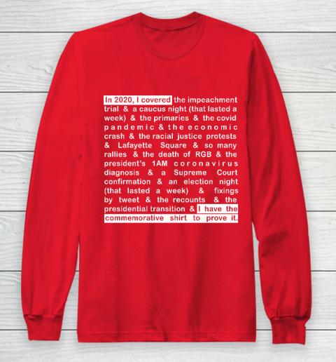 Jim Acosta Long Sleeve T-Shirt 7