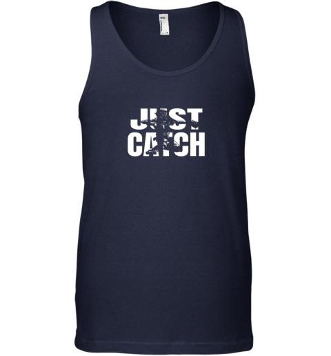 8rzp just catch baseball catchers gear shirt baseballin gift unisex tank 17 front navy