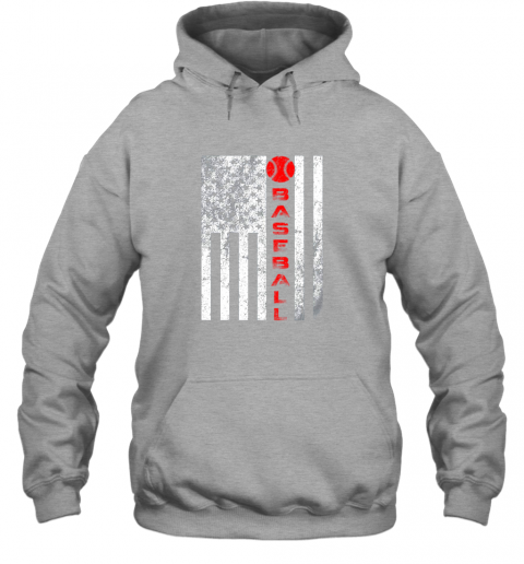 qac8 usa red whitevintage american flag baseball gift hoodie 23 front sport grey
