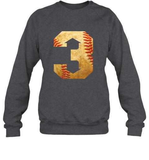 k1lt three up three down baseball 3 up 3 down sweatshirt 35 front dark heather