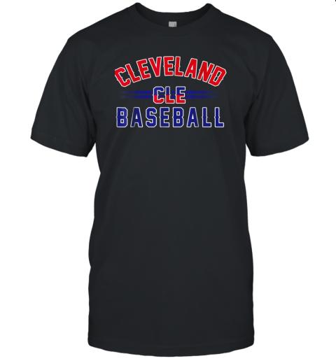 Cleveland CLE Baseball Unisex Jersey Tee