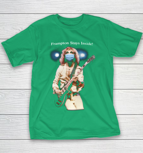 Peter Frampton Covid Stays Inside Youth T-Shirt 3