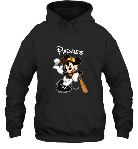 Baseball Mickey Team San Diego Padres Hoodie
