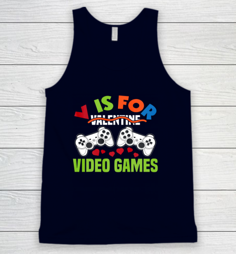 Funny Video Games Lover Valentine Day Tank Top 2