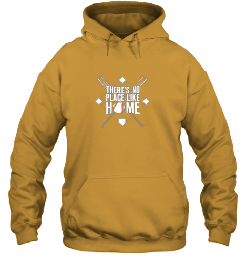 oelz there39 s no place like home baseball tshirt mom dad youth hoodie 23 front gold