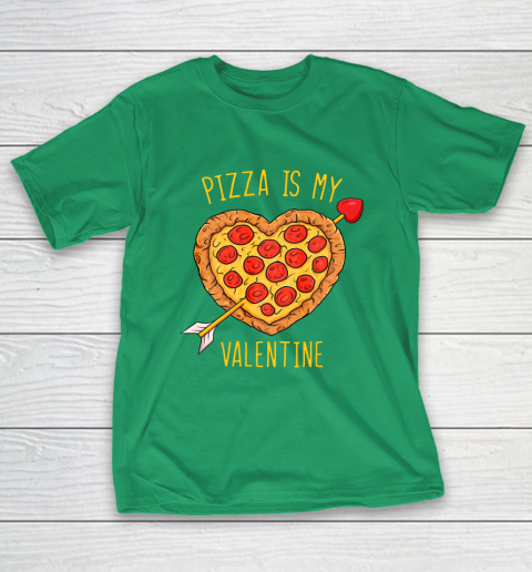 Pizza Is My Valentine Funny Valentines Day T-Shirt 5