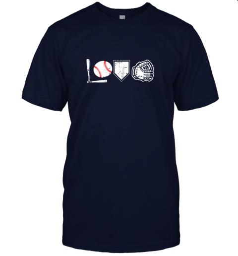 aukp i love baseball baseball heart jersey t shirt 60 front navy