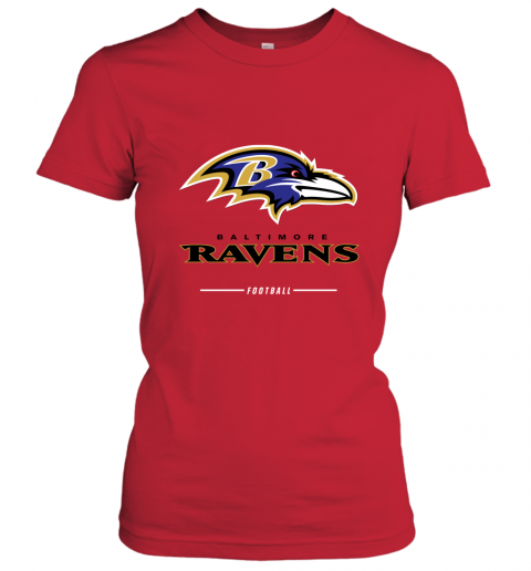 uuoi mens baltimore ravens nfl pro line black team lockup t shirt ladies t shirt 20 front red