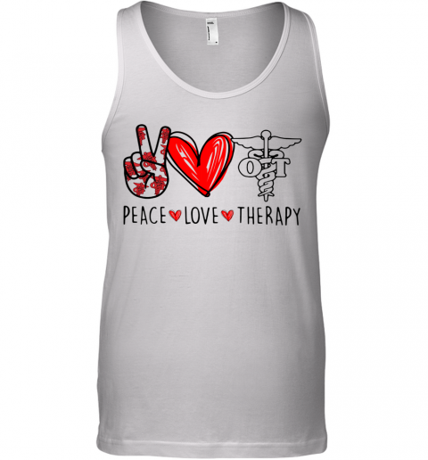 Peace Love Therapy Tank Top