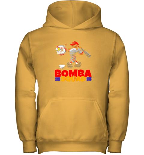 f7h4 bomba squad twins shirt for men women baseball minnesota youth hoodie 43 front gold