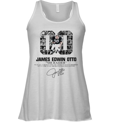 00 James Edwin Otto Mr Raider Signature Racerback Tank