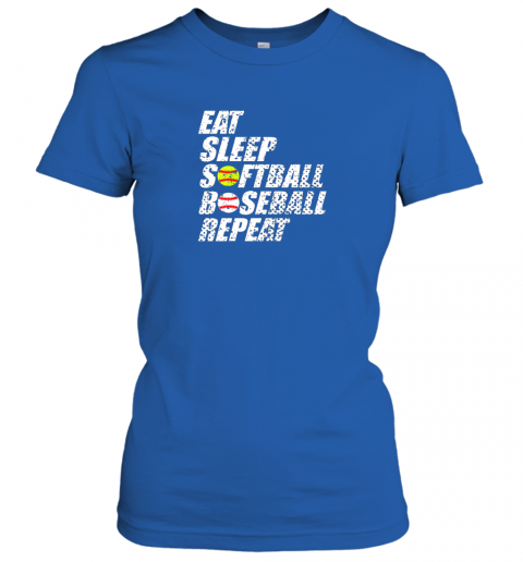 tj5q softball baseball repeat shirt cool cute gift ball mom dad ladies t shirt 20 front royal
