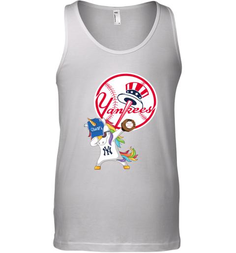 Hip Hop Dabbing Unicorn Flippin Love New York Yankees Tank Top