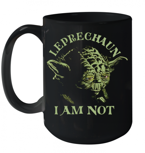 Star Wars Yoda Leprechaun I Am Not St. Patrick'S Day Ceramic Mug 15oz