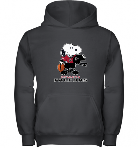 Snoopy A Strong And Proud Atlanta Falcons NFL Youth Hoodie