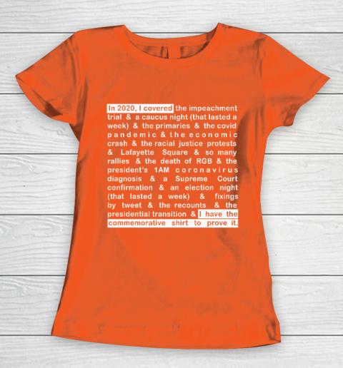 Jim Acosta Women's T-Shirt 13