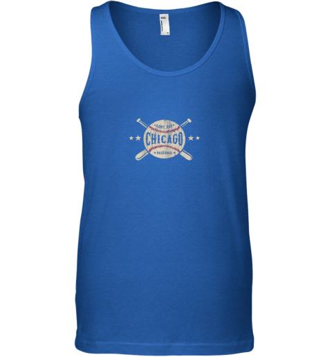 au70 chicago illinois il shirt vintage baseball graphic unisex tank 17 front royal