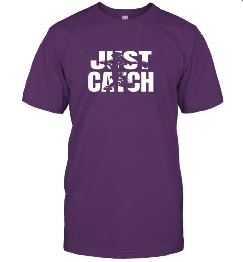 gimj just catch baseball catchers long sleeve shirt baseballisms jersey t shirt 60 front team purple